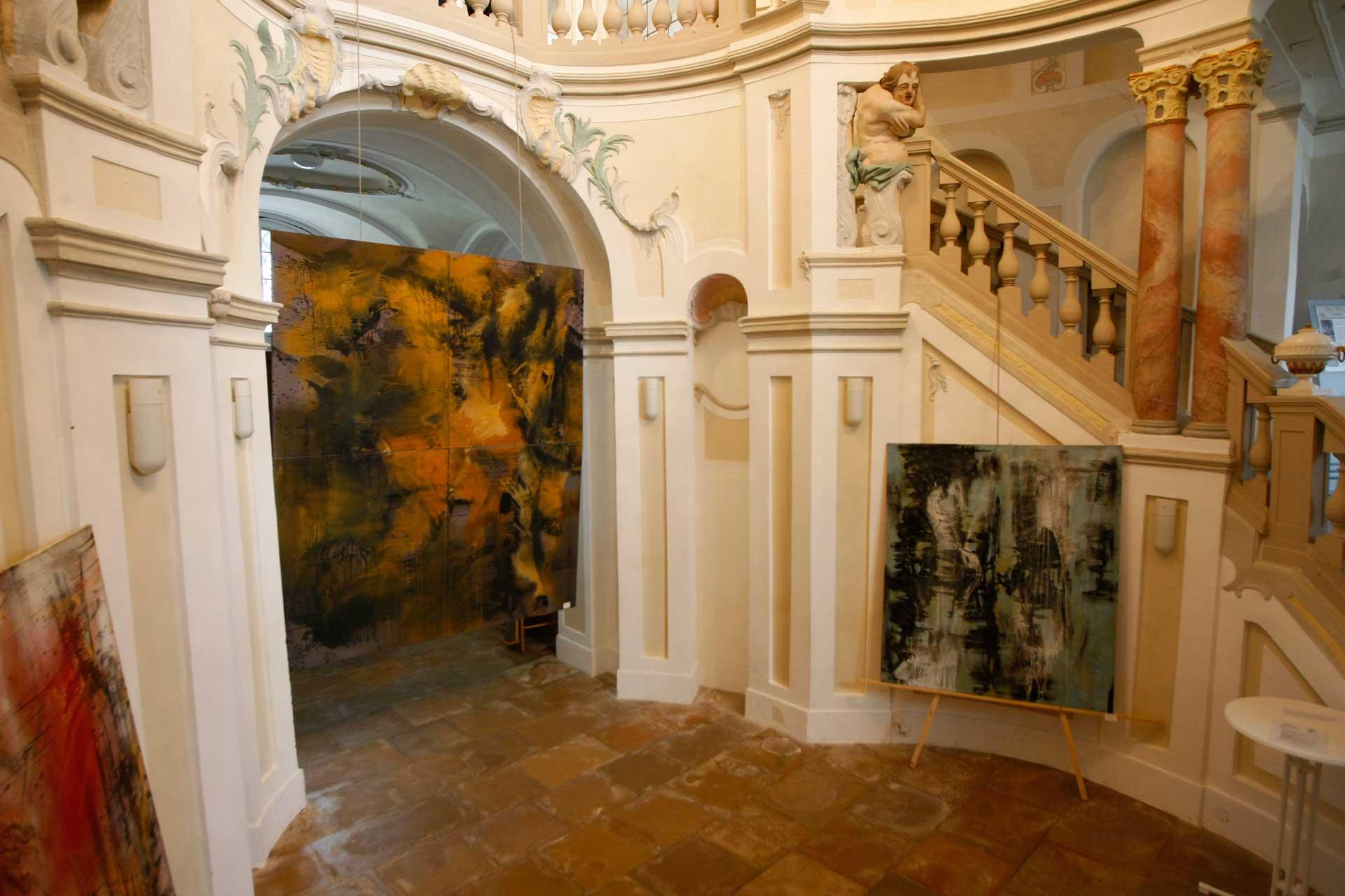 B1-Malerei-Ute-Beatrix-Schraag-Das-Große-Gebet-Malerei-Mischtechnik-auf-Leinwand-300-x-250cm